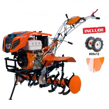 Motocultor RURIS 918K +...